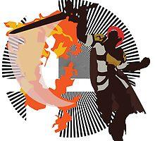 Roy (Smash 4, White & Gold) - Sunset Shores by Kevandre
