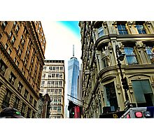 One world trade view Photographic Print