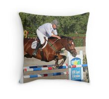 George Sanna - World Cup Qualifier 2009 Throw Pillow