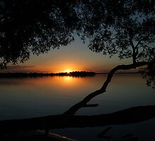 Mallabula Sunset by Sharon Bree