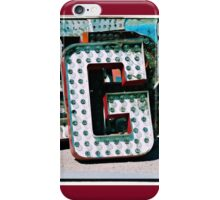 The Letter G iPhone Case/Skin