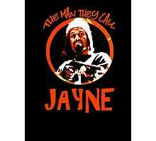 The Man They Call Jayne Photographic Print