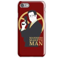 Manners Maketh Man - Galahad iPhone Case/Skin