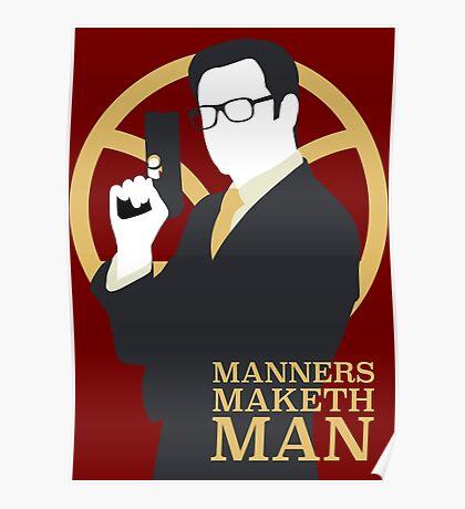 Manners Maketh Man - Galahad Poster