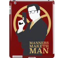 Manners Maketh Man - Galahad iPad Case/Skin