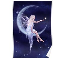 Birth of a Star Moon Fairy Poster