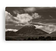 Mt. Ngauruhoe - New Zealand ... aka Mt. Doom - Middle Earth Canvas Print