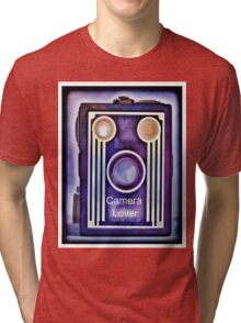 Camera Lover Tri-blend T-Shirt