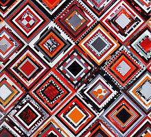 Test Pattern (Orange) by Joel Lambeth