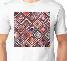 Test Pattern (Orange) Unisex T-Shirt