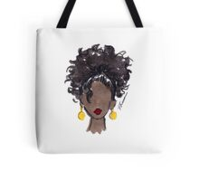 How To Be Curly Three Tote Bag