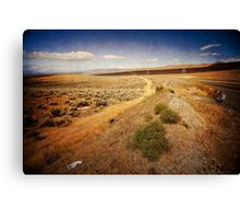 Washington State desert lands Canvas Print