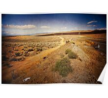 Washington State desert lands Poster