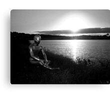 Lakeside Alien Canvas Print