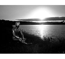 Lakeside Alien Photographic Print