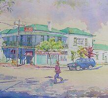 Orbost Club Hotel by Christine Lacreole