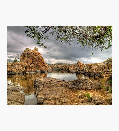 Watson Lake in  Prescott, AZ Photographic Print