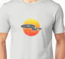Galaxy D Class Starship 1701 - Light Unisex T-Shirt