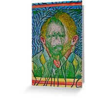 Dueling Vincents Greeting Card