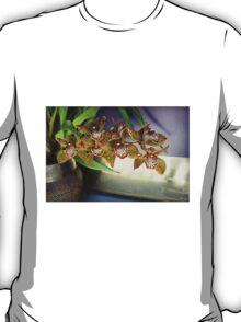 Brass-ket Weave And Semi-Gloss Purple T-Shirt