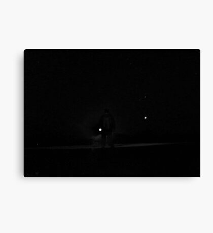 Alien Noir Canvas Print