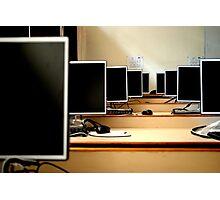 My Computer Lab Photographic Print