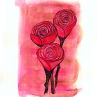 roses by Kathleen Cameron