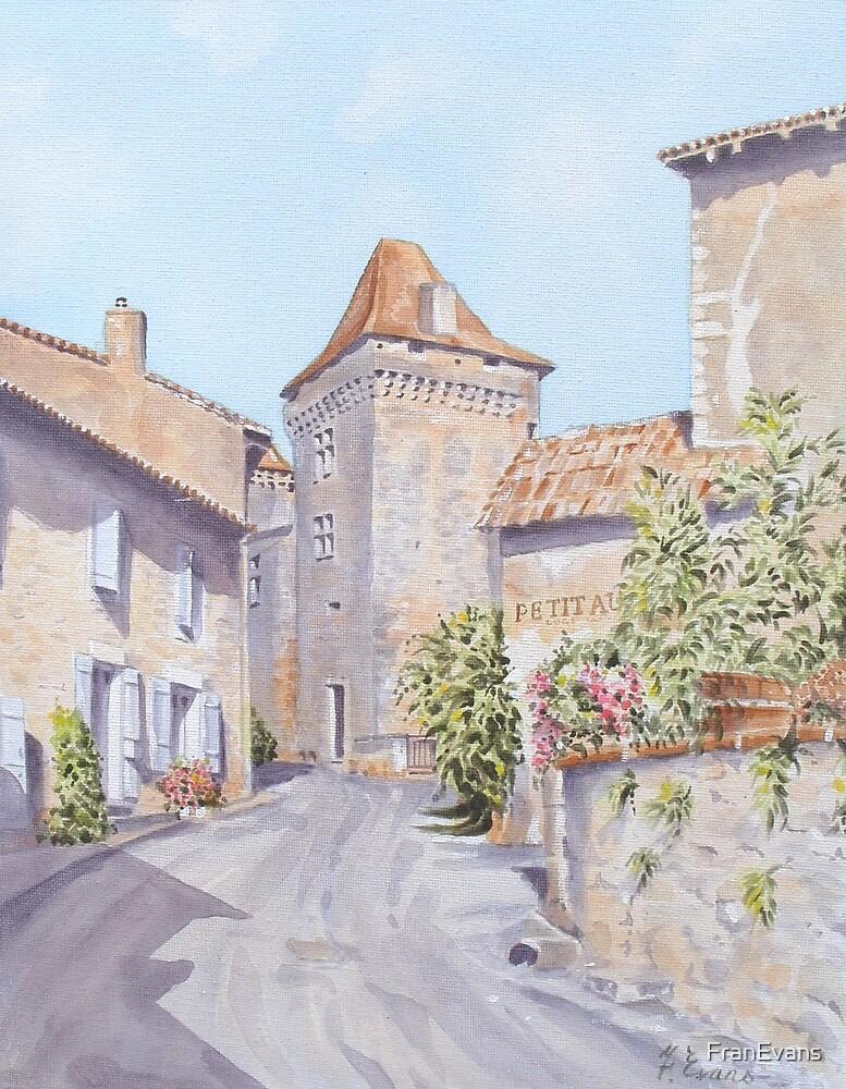 Chateau de Varaignes by FranEvans