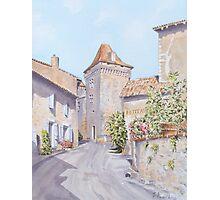 Chateau de Varaignes Photographic Print