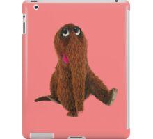 Awesome snuffleupagus iPad Case/Skin