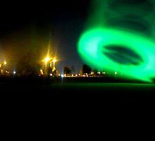 Landing UFO by Salien