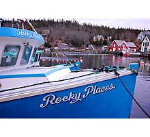 Rocky Places Nova Scotia Canada Photographic Print