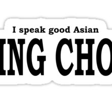 Ching Chong Sticker