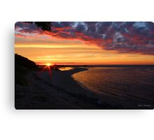 Sunset 724 Canvas Print