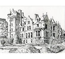 Belfast Castle Photographic Print