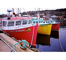Fishing Harbour ~ Nova Scotia Canada Photographic Print