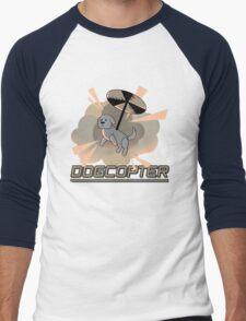 Dogcopter Men's Baseball ¾ T-Shirt