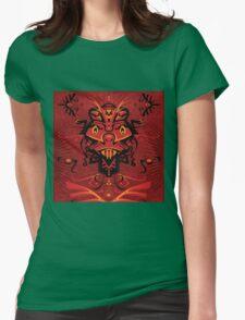Samurai Shaman Womens Fitted T-Shirt