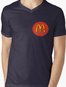 madonna's  (mcDonalds) Mens V-Neck T-Shirt