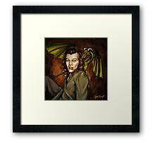 Dragon Series: Harry Framed Print