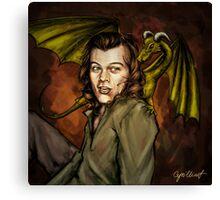 Dragon Series: Harry Canvas Print