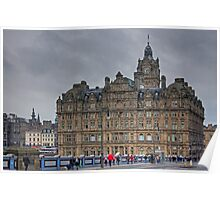 The Balmoral from North Bridge Poster