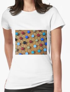 Chinese Checkers Womens Fitted T-Shirt