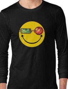 Transmetro trippy - Comic mashup Long Sleeve T-Shirt