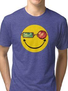 Transmetro trippy - Comic mashup Tri-blend T-Shirt