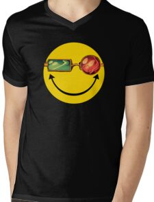 Transmetro trippy - Comic mashup Mens V-Neck T-Shirt