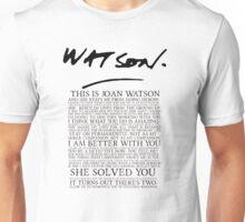 Joan Watson Unisex T-Shirt