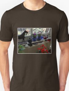 New African Violets In The Potting Shed T-Shirt