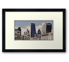 City of London Skyline Framed Print