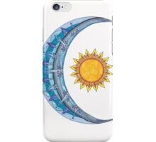 Sun & Moon iPhone Case/Skin